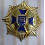Insignia Orden Metropolitana Plata Ley 925