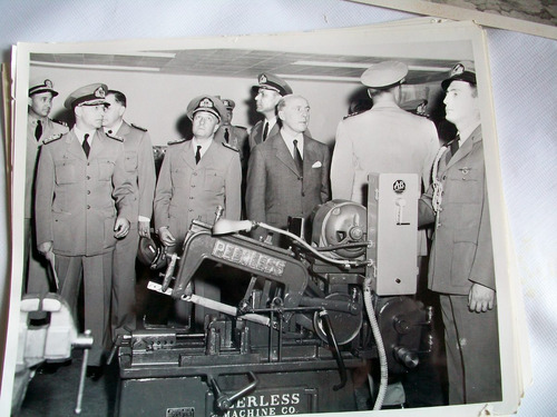 militaria foto antigua navy junio/54 argentino/norteamerican
