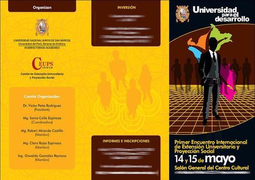 millar de folletos publicitarios tripticos o bipticos color