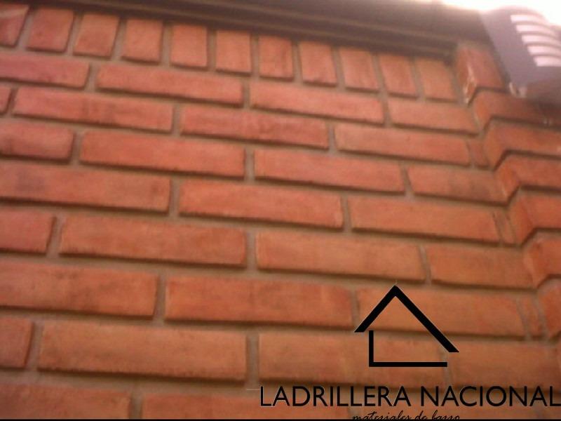 Millar ladrillo tabique rojo 6x12x24 p fachada 100 - Como tirar un tabique ...