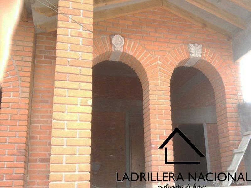 Millar ladrillo tabique rojo 6x12x24 p fachada 100 for Construccion de piscinas con ladrillos