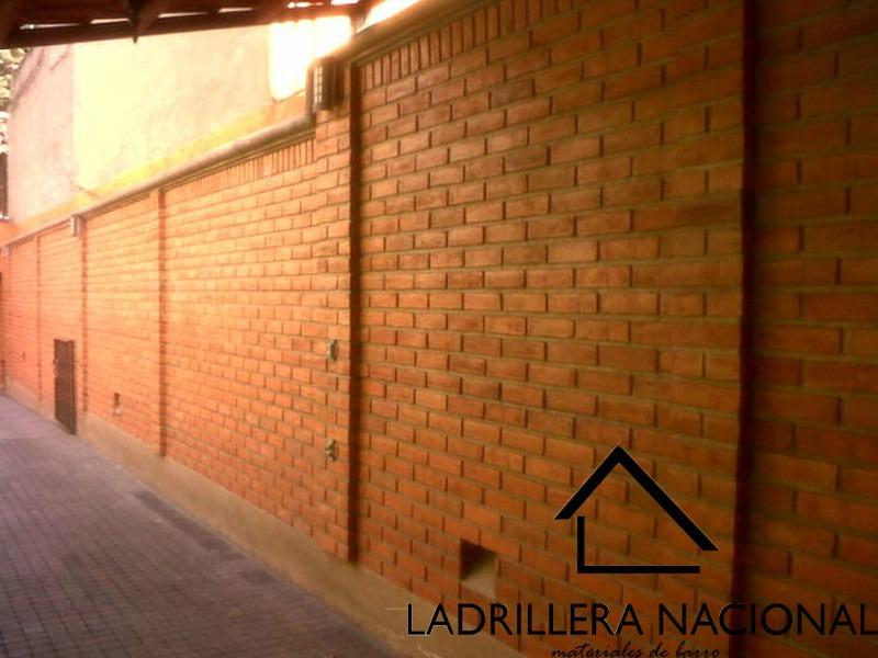 Millar ladrillo tabique rojo 6x12x24 p fachada 100 for Precio de ladrillos