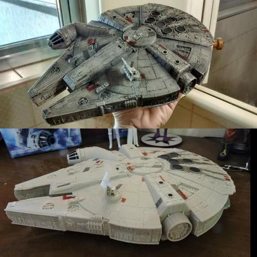 millenium falcon - star wars - 25cm