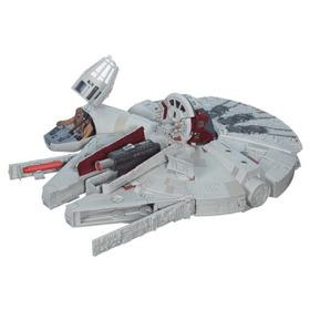 Millenium Falcon Star Wars Nave Com Bonequinhos Para Criança