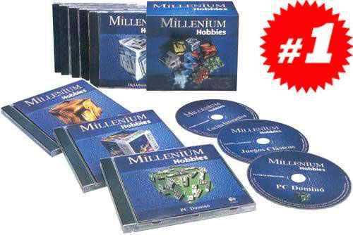 millenium hobbies 8 cd roms