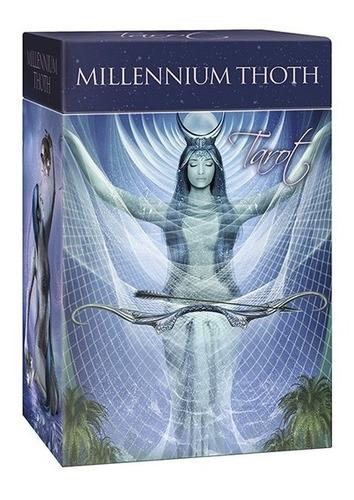 millenium thoth tarot, esta en ingles, con su librito