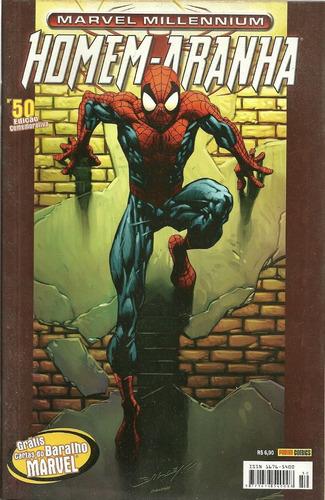 millennium homem-aranha 50 - panini - bonellihq cx393 g18