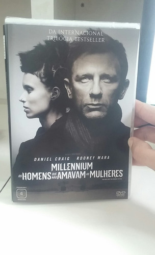 millennium -homens que não amavam as mulheres - dvd