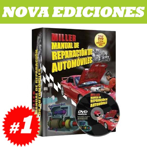 miller, manual de reparación de automóviles 1 tomo + 1 dvd