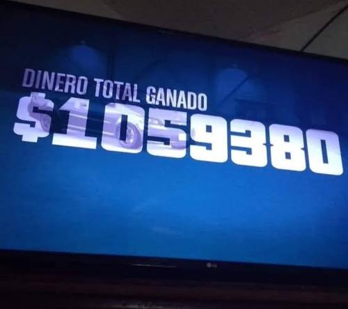 millón de dolares en gta v rapido (pc)