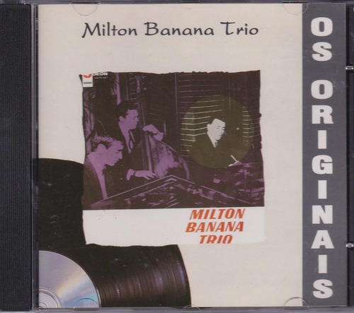 milton banana trio - cd milton banana trio - 1965 - seminovo