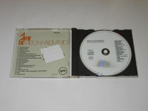milton nascimento - a arte de - 1988 - cd
