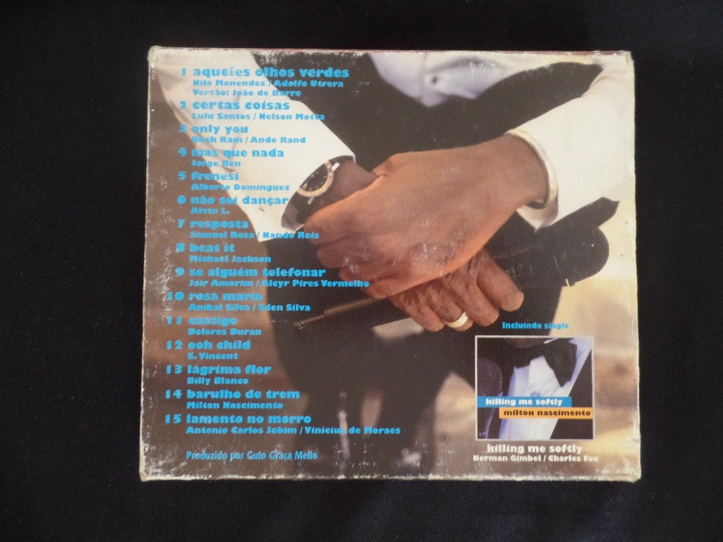 Milton Nascimento - Crooner + Single Killing Me - Cd Duplo