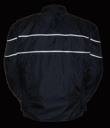 milwaukee leather hombres scooter de estilo textil chaqueta