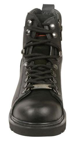 milwaukee leather la mujer de encaje hasta las botas de punt