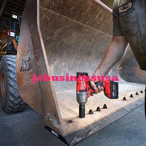milwaukee llave de impacto de 1/2pulg m18. high torque  full