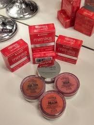 mímika gel in powder blush gel lidherma