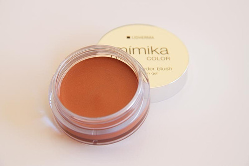 mímika gel in powder blush gel lidherma