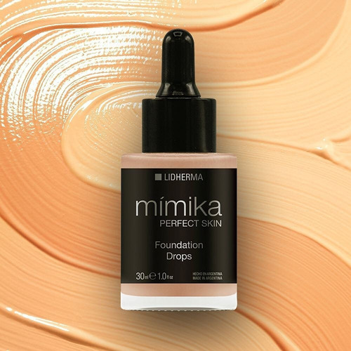 mimika perfect skin foundation drops base liquida lidherma