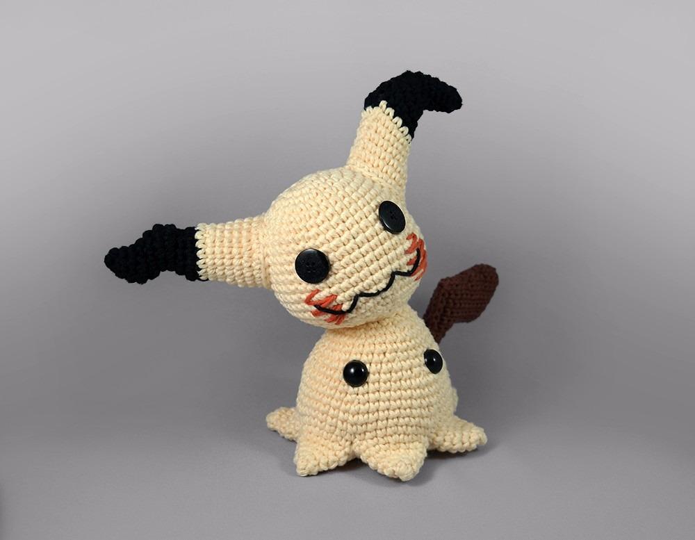 PATTERN Mimikyu Amigurumi Crochet Plush PDF | Etsy | 777x1000