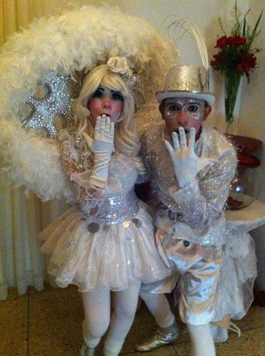 mimos o arlequines para bodas 15 años o hora loca