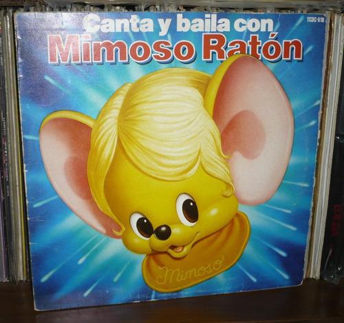 mimoso raton lp canta y balia con mimoso raton