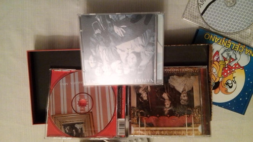 mina mazzini coleccion 10 cds $450