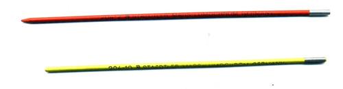 minas de grafito, staedler mars, usadas, 204-10, luminograf