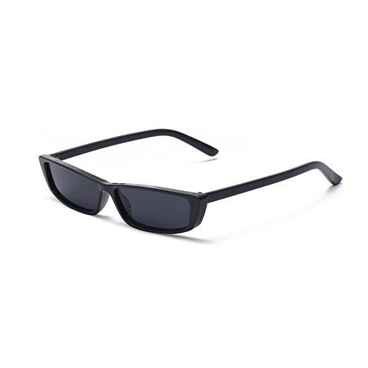 Mincl / Negrita Gafas De Sol Pequeños Manera Marco Elegante ...