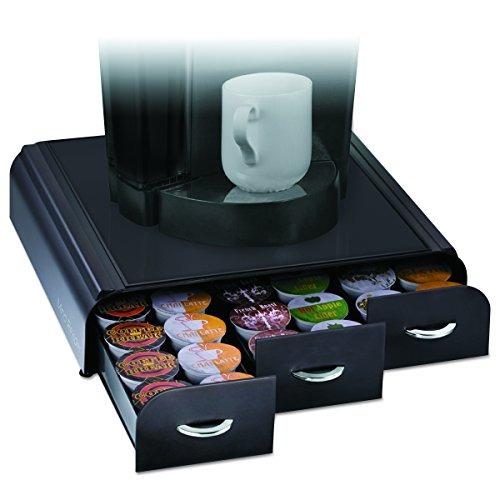 mind reader 'anchor' triple drawer k-cup dolce gusto, cbtl,