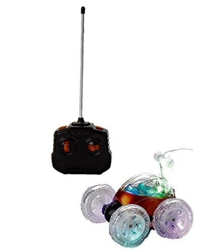 mindscope turbo twister light up led stunt rc vehículo de