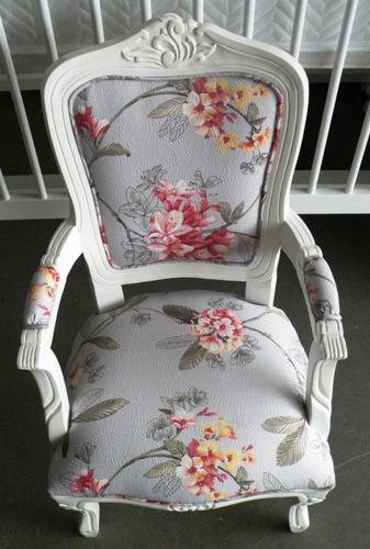 mine poltrona cadeira decoração luiz xv - hacke móveis