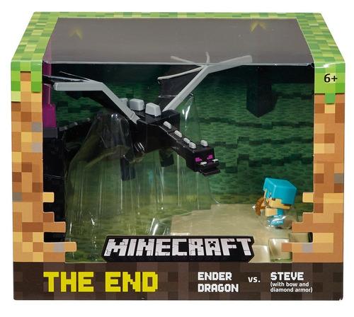 minecraft caja de batalla y minifiguras - el fin