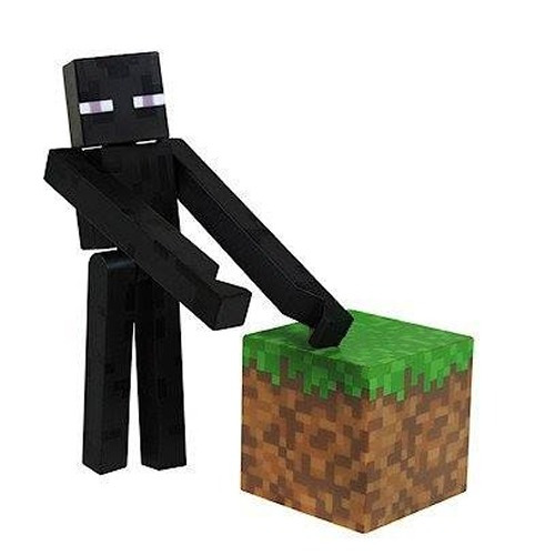 minecraft enderman series 1 jazwares
