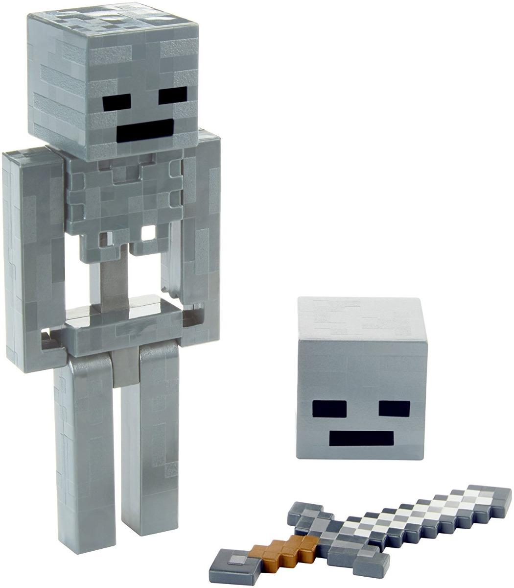 minecraft esqueleto de invierno con slash figura básica 1 113 48