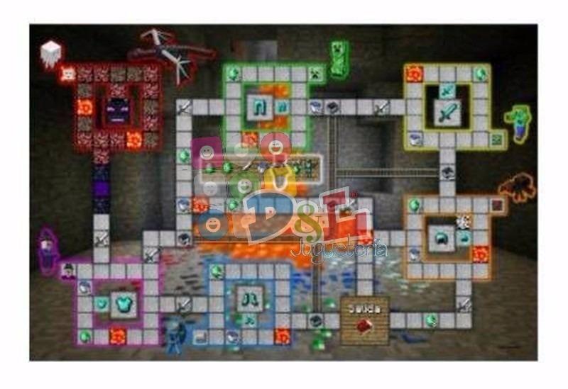 Minecraft Excelente Juego De Mesa 1 A 6 Jugadores Miralo   174
