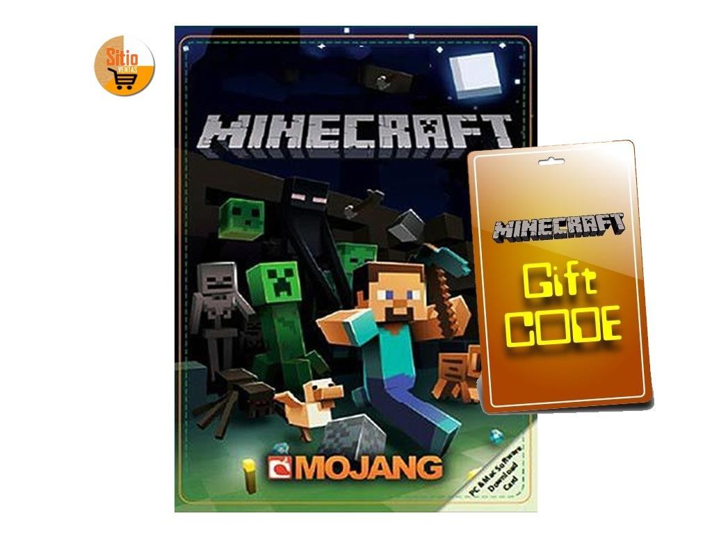 Minecraft Java Edition (pc Y Mac) Gift Code - Ser Premium