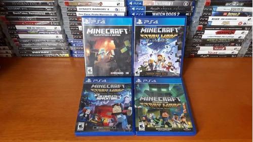 minecraft juego ps4
