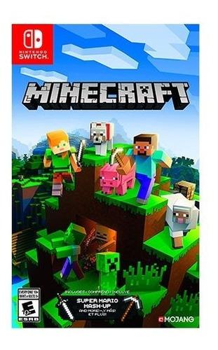 minecraft mash up mario switch