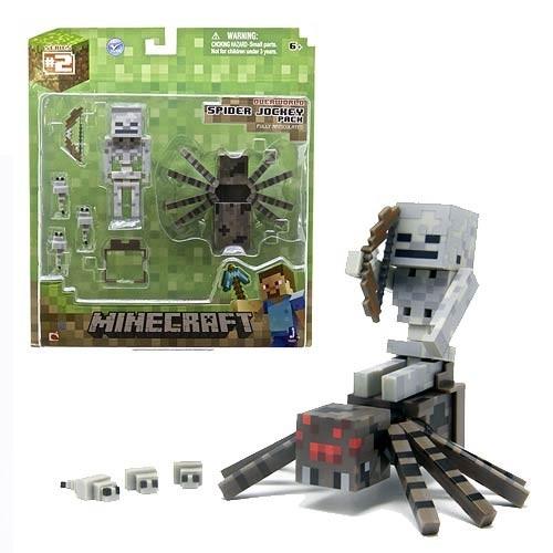 Minecraft Mini Figuras Spider Jockey - Em Estoque No ...
