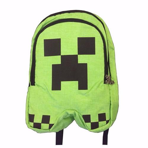 minecraft mochila de alta calidad unisex niños