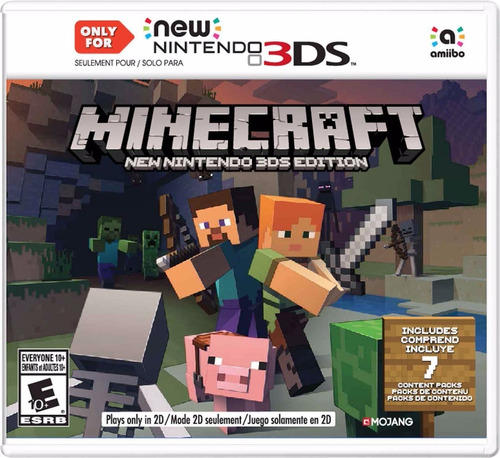 minecraft: new nintendo 3ds (3ds)