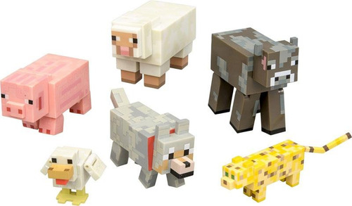 minecraft  overworld 6p  animal mobs series 2