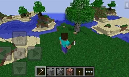 Jogo Minecraft Pocker Para iPhone(black Friday