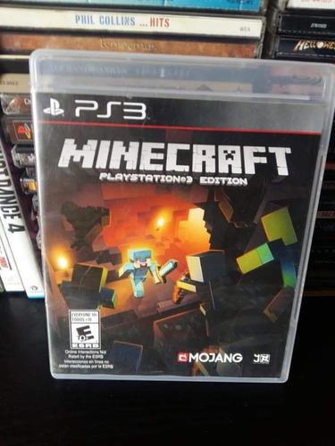 minecraft playstation 3 ps3