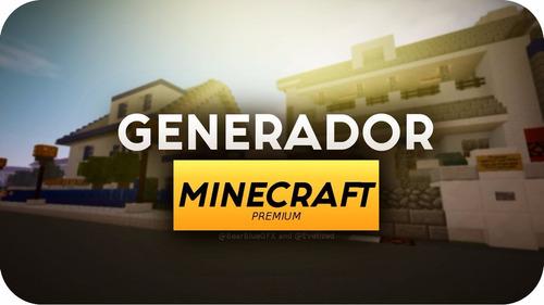 minecraft premium (generador fa ) full acces
