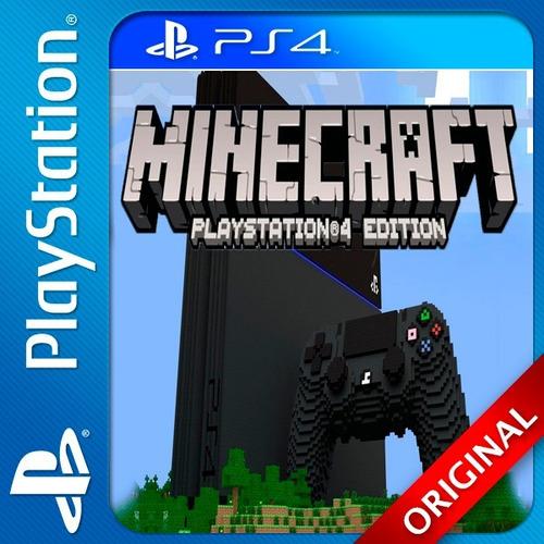 minecraft ps4 digital n°1 en ventas en argentina (cp)