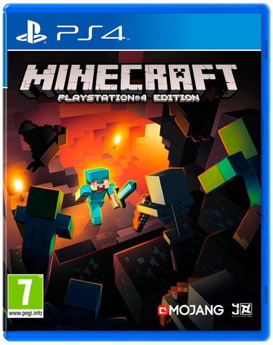 minecraft ps4 físico original nuevo sellado play 4 alclick