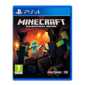 Minecraft Ps4 Fisico Sellado Nuevo Original - San Justo