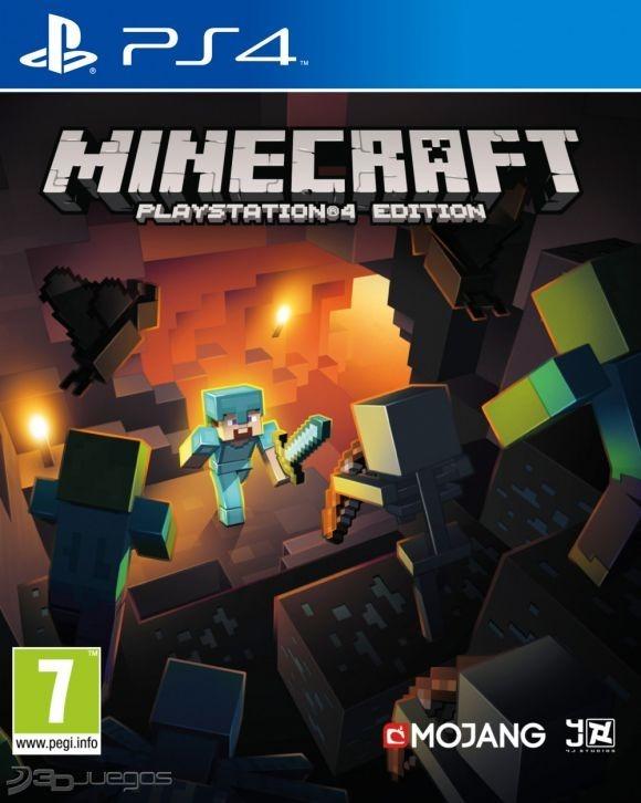 Minecraft Ps4 Necesita Internet Juego Digital 5 05 O Menos